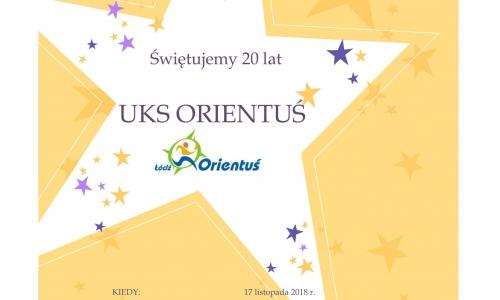 20 lat UKS Orientuś Łódź